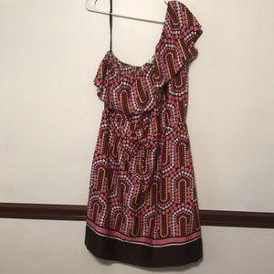 NY & Company Beautiful Dress One Shoulder